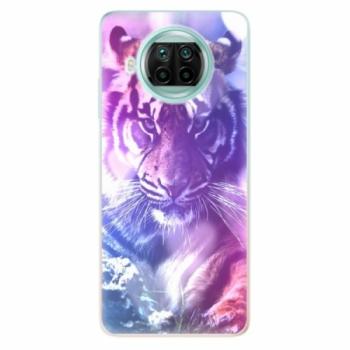 Odolné silikonové pouzdro iSaprio - Purple Tiger - Xiaomi Mi 10T Lite