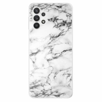 Odolné silikonové pouzdro iSaprio - White Marble 01 - Samsung Galaxy A32 5G