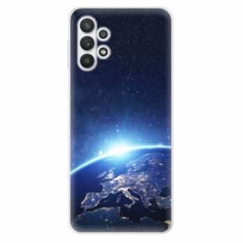 Odolné silikonové pouzdro iSaprio - Earth at Night - Samsung Galaxy A32 5G