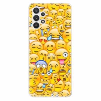 Odolné silikonové pouzdro iSaprio - Emoji - Samsung Galaxy A32 5G