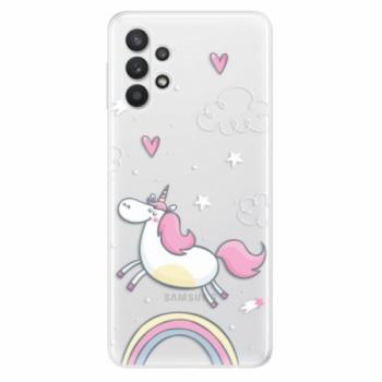Odolné silikonové pouzdro iSaprio - Unicorn 01 - Samsung Galaxy A32 5G