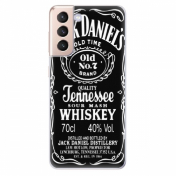 Odolné silikonové pouzdro iSaprio - Jack Daniels - Samsung Galaxy S21