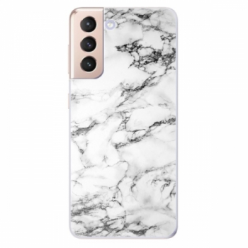Odolné silikonové pouzdro iSaprio - White Marble 01 - Samsung Galaxy S21
