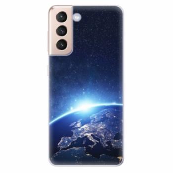 Odolné silikonové pouzdro iSaprio - Earth at Night - Samsung Galaxy S21