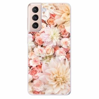 Odolné silikonové pouzdro iSaprio - Flower Pattern 06 - Samsung Galaxy S21