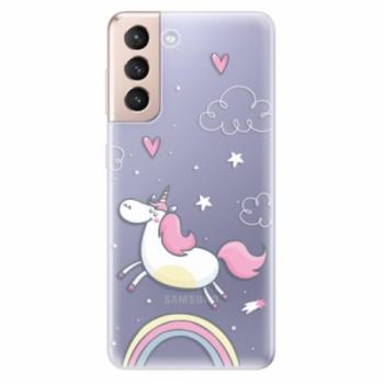 Odolné silikonové pouzdro iSaprio - Unicorn 01 - Samsung Galaxy S21