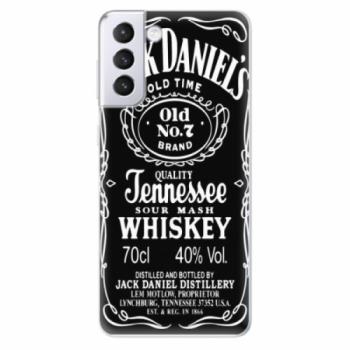Odolné silikonové pouzdro iSaprio - Jack Daniels - Samsung Galaxy S21+