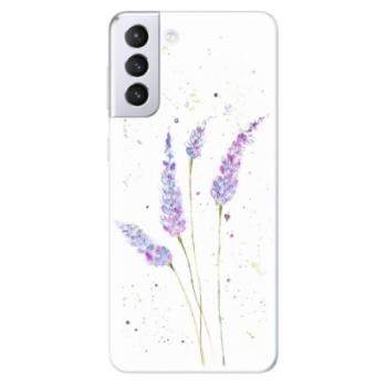 Odolné silikonové pouzdro iSaprio - Lavender - Samsung Galaxy S21+
