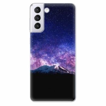 Odolné silikonové pouzdro iSaprio - Milky Way - Samsung Galaxy S21+