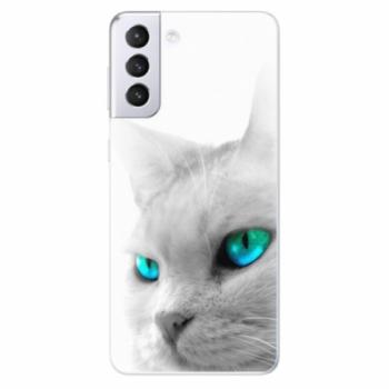 Odolné silikonové pouzdro iSaprio - Cats Eyes - Samsung Galaxy S21+
