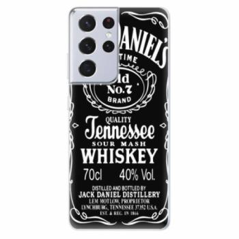 Odolné silikonové pouzdro iSaprio - Jack Daniels - Samsung Galaxy S21 Ultra