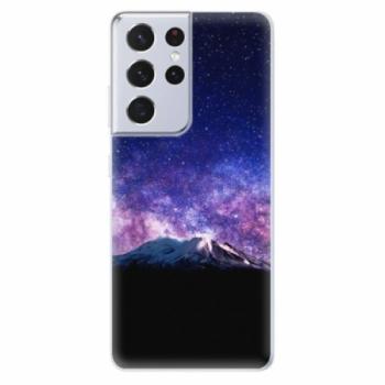 Odolné silikonové pouzdro iSaprio - Milky Way - Samsung Galaxy S21 Ultra