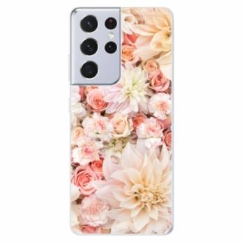 Odolné silikonové pouzdro iSaprio - Flower Pattern 06 - Samsung Galaxy S21 Ultra