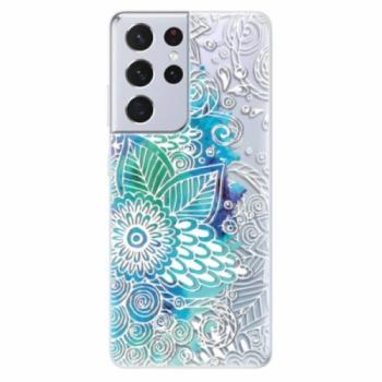 Odolné silikonové pouzdro iSaprio - Lace 03 - Samsung Galaxy S21 Ultra