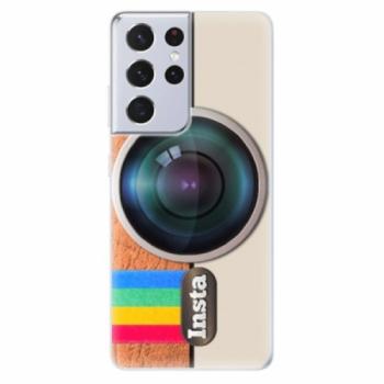 Odolné silikonové pouzdro iSaprio - Insta - Samsung Galaxy S21 Ultra