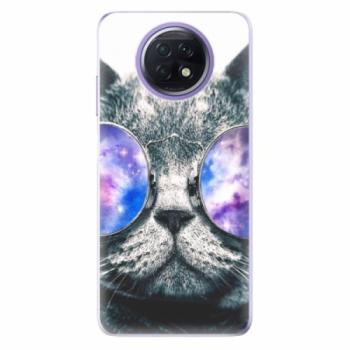 Odolné silikonové pouzdro iSaprio - Galaxy Cat - Xiaomi Redmi Note 9T