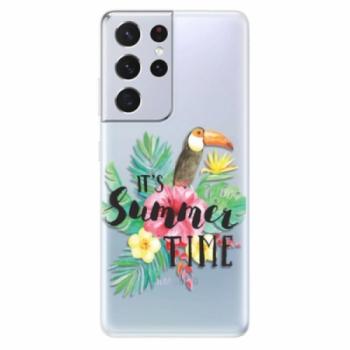 Odolné silikonové pouzdro iSaprio - Summer Time - Samsung Galaxy S21 Ultra