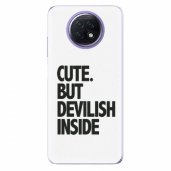 Odolné silikonové pouzdro iSaprio - Devilish inside - Xiaomi Redmi Note 9T