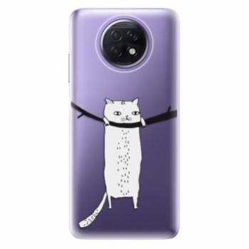 Odolné silikonové pouzdro iSaprio - Hang in there - Xiaomi Redmi Note 9T