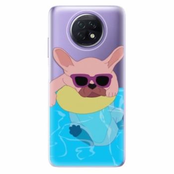 Odolné silikonové pouzdro iSaprio - Swimming Dog - Xiaomi Redmi Note 9T