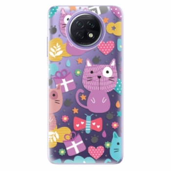 Odolné silikonové pouzdro iSaprio - Cat pattern 01 - Xiaomi Redmi Note 9T