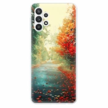 Odolné silikonové pouzdro iSaprio - Autumn 03 - Samsung Galaxy A32