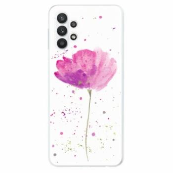 Odolné silikonové pouzdro iSaprio - Poppies - Samsung Galaxy A32