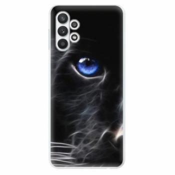 Odolné silikonové pouzdro iSaprio - Black Puma - Samsung Galaxy A32