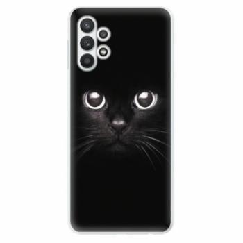 Odolné silikonové pouzdro iSaprio - Black Cat - Samsung Galaxy A32