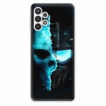 Odolné silikonové pouzdro iSaprio - Roboskull - Samsung Galaxy A32