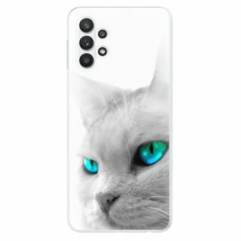 Odolné silikonové pouzdro iSaprio - Cats Eyes - Samsung Galaxy A32