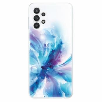 Odolné silikonové pouzdro iSaprio - Abstract Flower - Samsung Galaxy A32