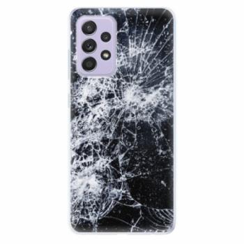 Odolné silikonové pouzdro iSaprio - Cracked - Samsung Galaxy A52/A52 5G