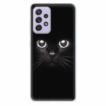 Odolné silikonové pouzdro iSaprio - Black Cat - Samsung Galaxy A52/A52 5G