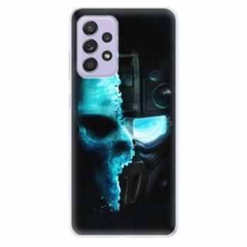 Odolné silikonové pouzdro iSaprio - Roboskull - Samsung Galaxy A52/A52 5G