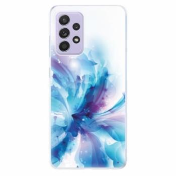 Odolné silikonové pouzdro iSaprio - Abstract Flower - Samsung Galaxy A52/A52 5G