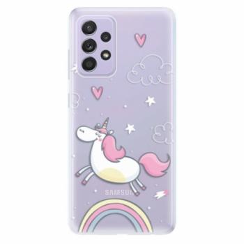 Odolné silikonové pouzdro iSaprio - Unicorn 01 - Samsung Galaxy A52/A52 5G