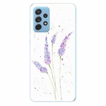 Odolné silikonové pouzdro iSaprio - Lavender - Samsung Galaxy A72
