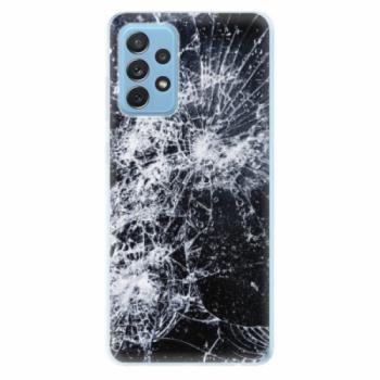 Odolné silikonové pouzdro iSaprio - Cracked - Samsung Galaxy A72