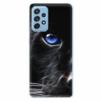Odolné silikonové pouzdro iSaprio - Black Puma - Samsung Galaxy A72