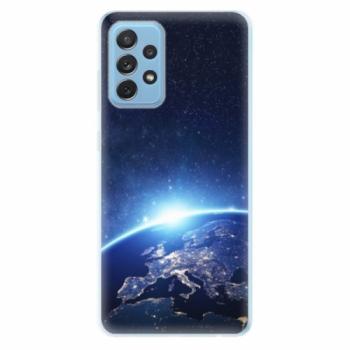 Odolné silikonové pouzdro iSaprio - Earth at Night - Samsung Galaxy A72