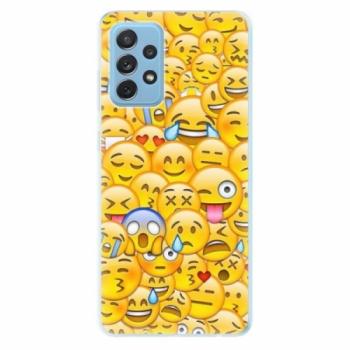 Odolné silikonové pouzdro iSaprio - Emoji - Samsung Galaxy A72