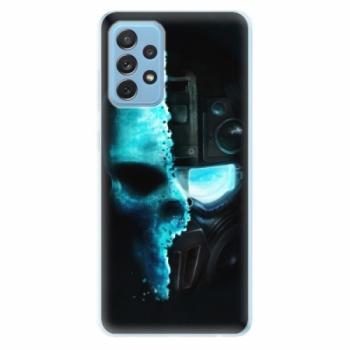 Odolné silikonové pouzdro iSaprio - Roboskull - Samsung Galaxy A72
