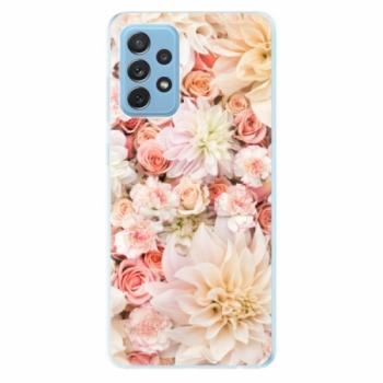 Odolné silikonové pouzdro iSaprio - Flower Pattern 06 - Samsung Galaxy A72