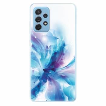 Odolné silikonové pouzdro iSaprio - Abstract Flower - Samsung Galaxy A72