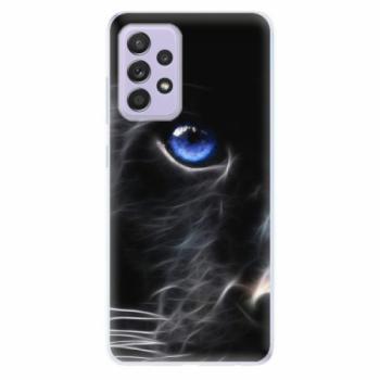 Odolné silikonové pouzdro iSaprio - Black Puma - Samsung Galaxy A52/A52 5G