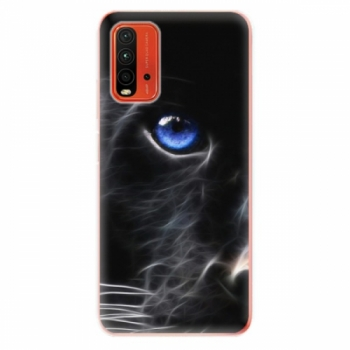 Odolné silikonové pouzdro iSaprio - Black Puma - Xiaomi Redmi 9T