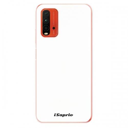 Odolné silikonové pouzdro iSaprio - 4Pure - bílý - Xiaomi Redmi 9T