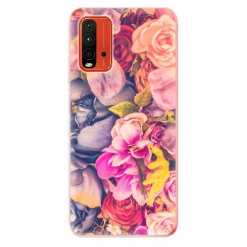 Odolné silikonové pouzdro iSaprio - Beauty Flowers - Xiaomi Redmi 9T
