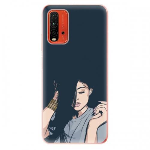 Odolné silikonové pouzdro iSaprio - Swag Girl - Xiaomi Redmi 9T